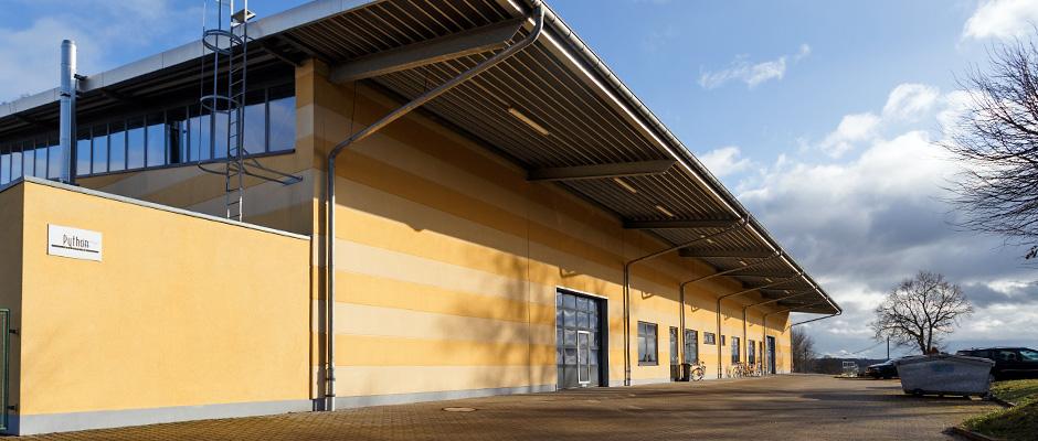 Python Systems GmbH Produktionshalle Gompertshausen